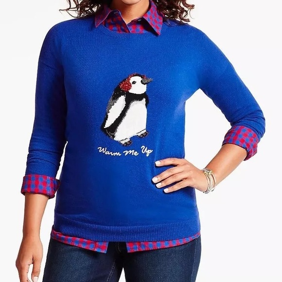 25b135781da Talbots Warm Me Up Christmas Winter Sweater 3X